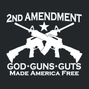 2nd Ammendment - Adult Soft Cotton T Design