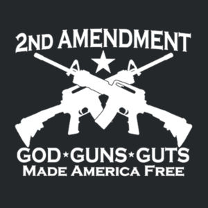 2nd Ammendment - Adult 50/50 Blend Hoodie Design