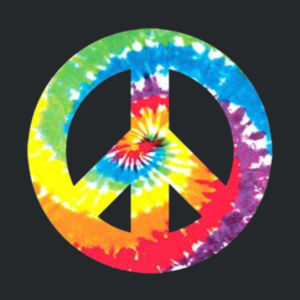 Peace Sign - Adult 50/50 Blend Hoodie Design