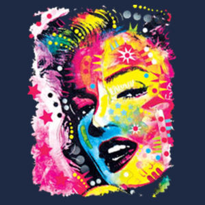 Marilyn - Adult Soft Cotton T Design