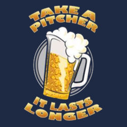 Take a Pitcher - Adult Soft Cotton T Design