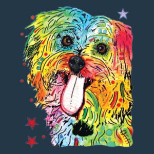Shih Tzu - Juniors V-Neck T Design