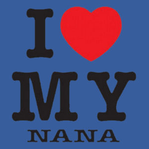 I Love Nana Toddler Design