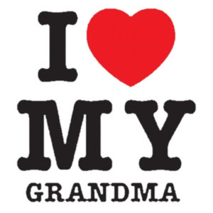 I Love Grandma Youth Design