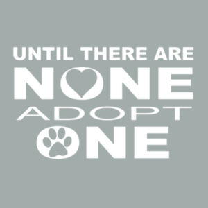Adopt Pets - Adult Soft Cotton T Design