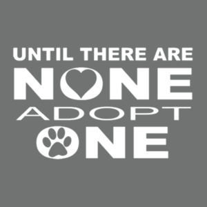 Adopt Pets - Adult Soft Tri-Blend T Design