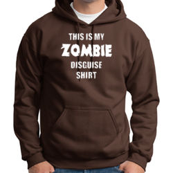 Zombie Disguise Hoodie Thumbnail
