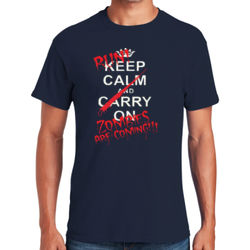 Zombies are Coming! T-Shirt Thumbnail