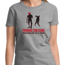 Finding the Cure Ladies T Thumbnail