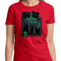 Zombie Lincoln Ladies T Thumbnail