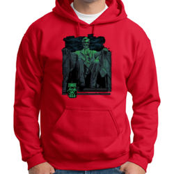 Zombie Lincoln Hoodie Thumbnail