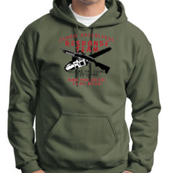Zombie Weapons Hoodie Thumbnail