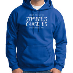 If Zombies Chase Us Hoodie Thumbnail