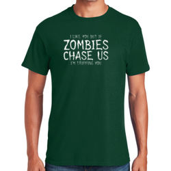 If Zombies Chase Us T-Shirt Thumbnail