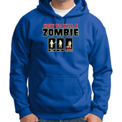 Zombie How-To Hoodie Thumbnail