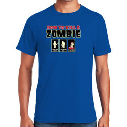 Zombie How-To T-Shirt Thumbnail