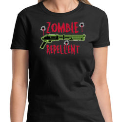 Zombie Repellent Ladies T Thumbnail