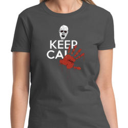 Keep Calm Zombie Ladies T Thumbnail