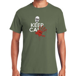Keep Calm Zombie T-Shirt Thumbnail