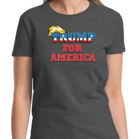 Trump for America Ladies T Thumbnail
