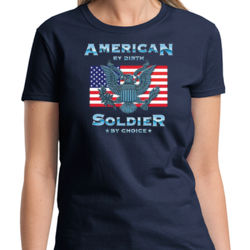 American Soldier Ladies T Thumbnail