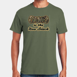 Camo is the New Black T-Shirt Thumbnail