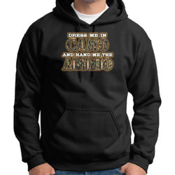 Dress Me in Camo - Adult 50/50 Blend Hoodie Thumbnail