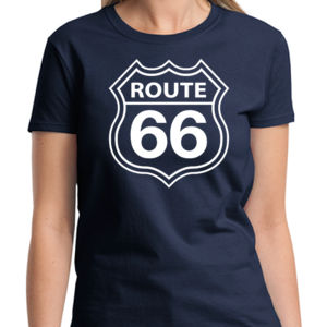 Route 66 Ladies T Thumbnail