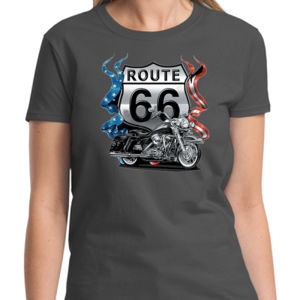 US Route 66 Ladies T Thumbnail