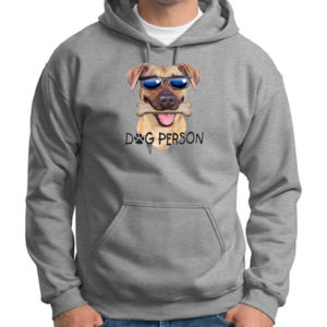 Dog Person T-Shirt - Adult Dri Blend Hooded Thumbnail