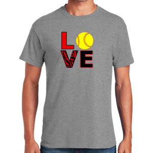 Love Softball T-Shirt Thumbnail