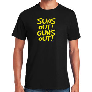Sun's Out Guns Out T-Shirt Thumbnail