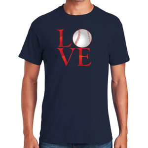 Love Baseball T-Shirt Thumbnail