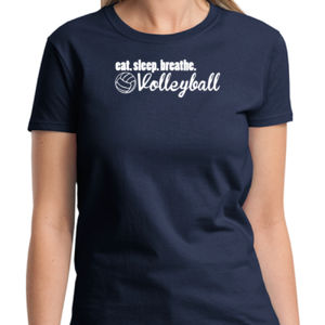 Volleyball Ladies T Thumbnail