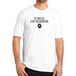 Let the Dogs Out - Adult Soft Tri-Blend T Thumbnail