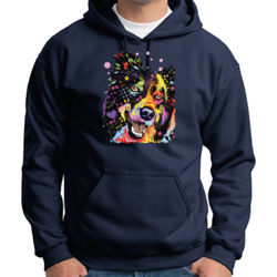 Colorful Aussie - Adult 50/50 Blend Hoodie Thumbnail