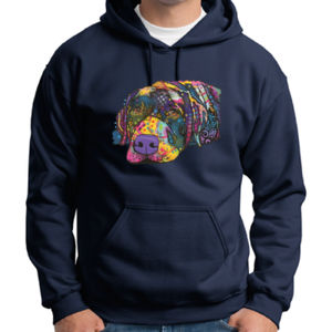 Colorful Lab - Adult 50/50 Blend Hoodie Thumbnail