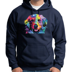Colorful Golden 2 - Adult 50/50 Blend Hoodie Thumbnail