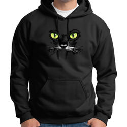 Cat Face - Adult 50/50 Blend Hoodie Thumbnail