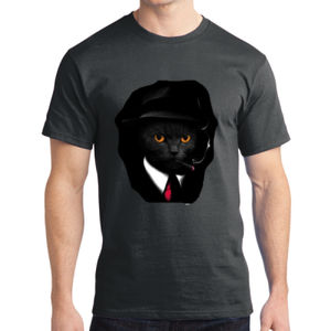Cool Cat - Adult Soft Cotton T Thumbnail