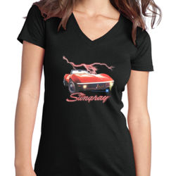 Stingray - Juniors V-Neck T Thumbnail