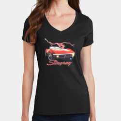 Stingray - Ladies V-Neck T Thumbnail