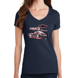 Stingray Splitback - Ladies V-Neck T Thumbnail