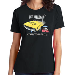 Camaro - Ladies Soft Cotton T Thumbnail