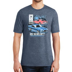 Old Shelby GT500 - Adult Soft Tri-Blend T Thumbnail