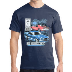 Old Shelby GT500 - Adult Soft Cotton T Thumbnail