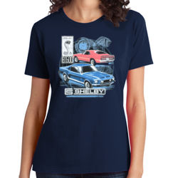 Old Shelby GT500 - Ladies Soft Cotton T Thumbnail