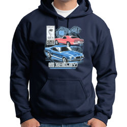 Old Shelby GT500 - Adult 50/50 Blend Hoodie Thumbnail