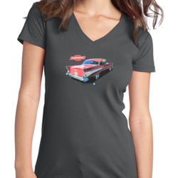Bel Air - Juniors V-Neck T Thumbnail