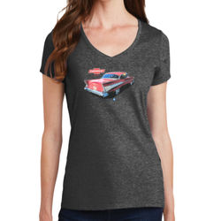 Bel Air - Ladies V-Neck T Thumbnail